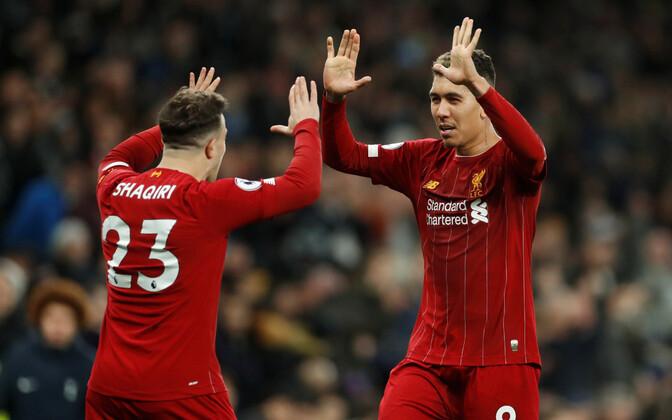 Xherdan Shaqiri ja Roberto Firmino (mõlemad Liverpoolist)