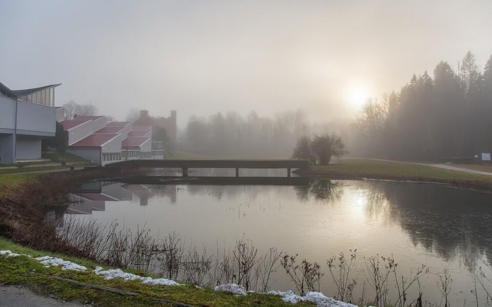Январский туман в Янеда.