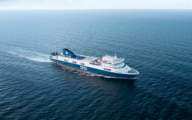 DFDS-i uus laev Optima Seaways
