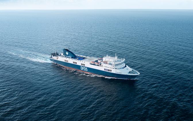 DFDS's Optima Seaways vessel.