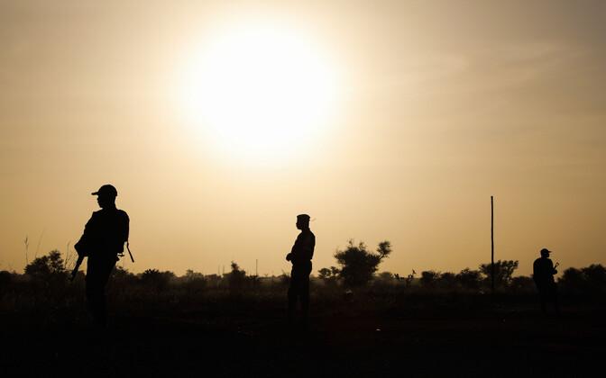 Sõdurid Nigeris.