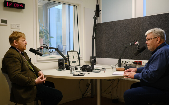 Интервью Тоомаса Сильдама с Андресом Пармасом.