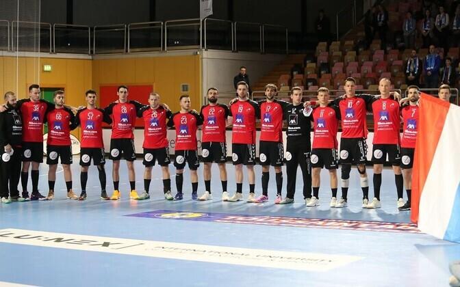 Luksemburgi rahvuskoondis enne laupäevast MM-valikmängu Leeduga.
