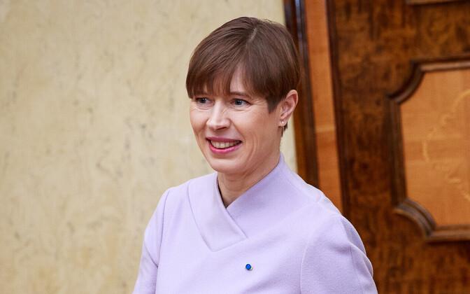 Президент Эстонии Керсти Кальюлайд.