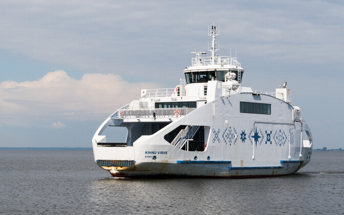 Kihnu Virve, one of Estonia's recently introduced new ferries.