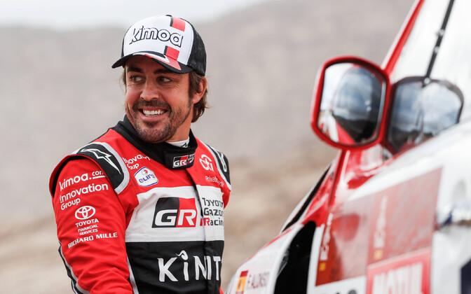 Fernando Alonso Dakari rallil