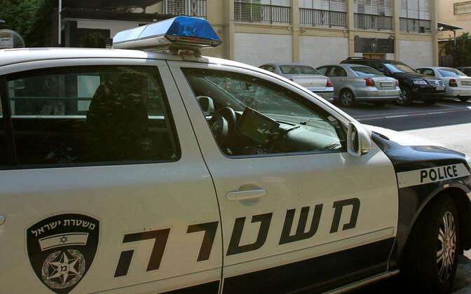 Iisraeli politseiauto.