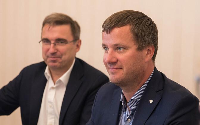 Марек Юргенсон (справа).