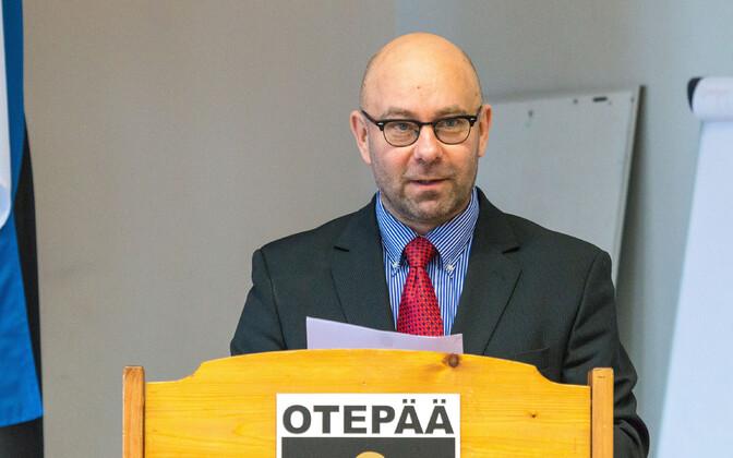 Kaido Tamberg, Otepää vallavanema