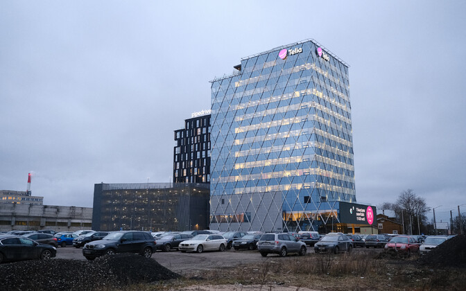 Штаб-квартира Telia в Таллинне.