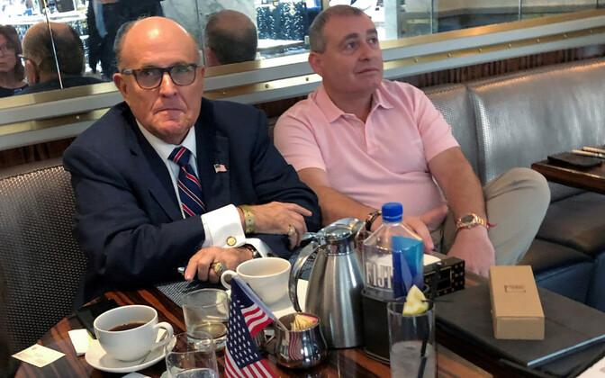 Rudy Giuliani ja Lev Parnas 2019. aasta septembris Washingtonis.