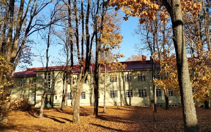 Viljandi haigla psühhiaatrilise sundravi hoone.