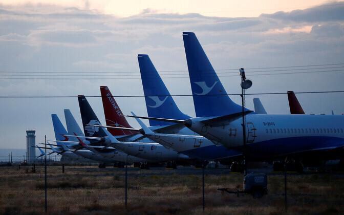 Reisilennukid Boeing 737 MAX Washingtoni osariigis.