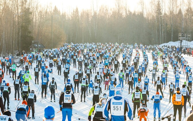 Last year's Tartu ski marathon.