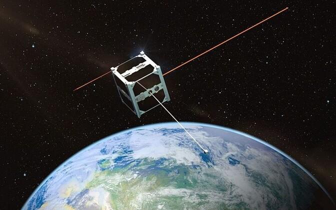 ESTCube orbiidil