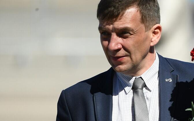 Глава профсоюза энергетиков Андрей Зайцев.