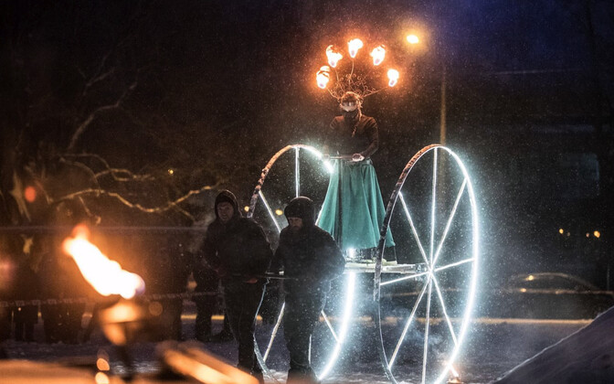 Фестиваль света.
