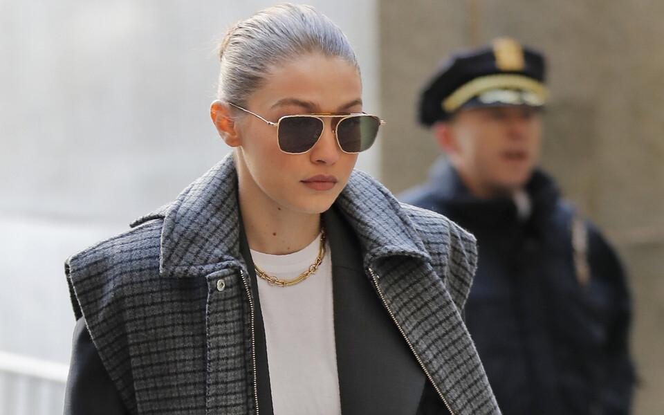 Supermodell Gigi Hadid, keda vandekohtunikuks ei valitud.