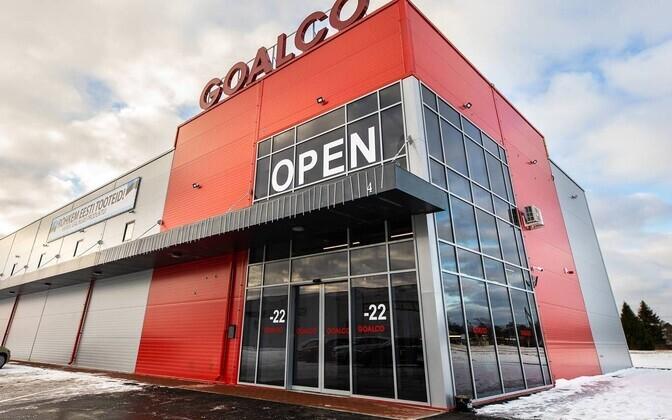 Goalco liquor store in Ainazi in January 2019.