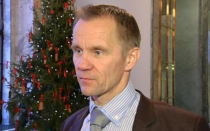 Põlissoomlaste poliitik Mika Niikko.