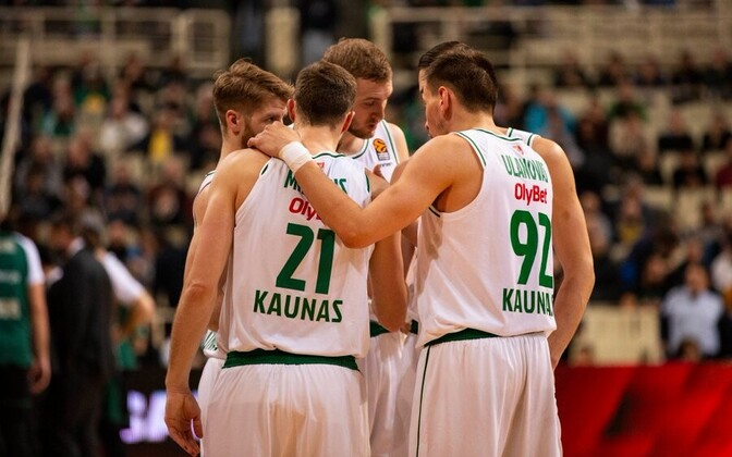 Kaunase Žalgirise mängijad