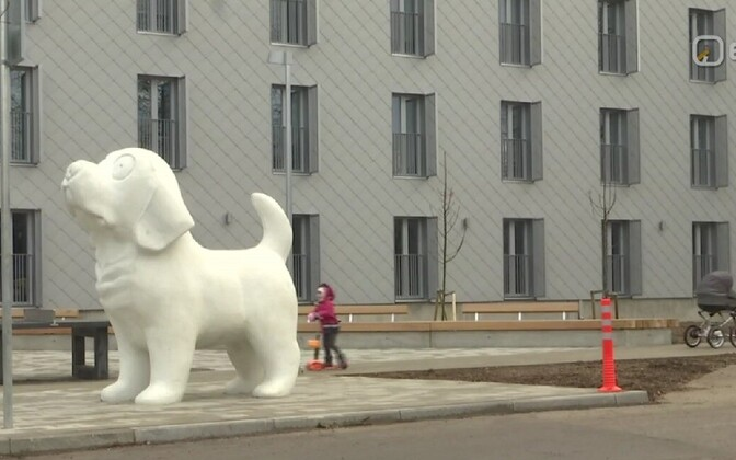 Новое общежитие Раквереского профессионального училища.