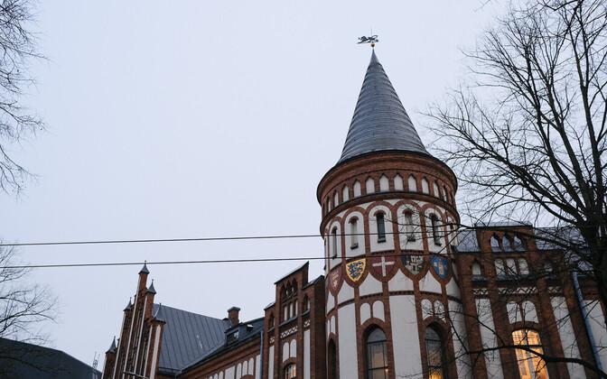 Bank of Estonia building in Tallinn.