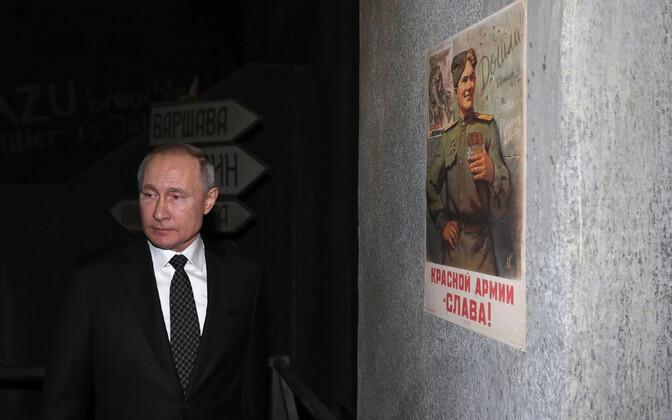 Vene president on viimastel nädalatel esinenud korduvalt Teise maailmasõja teemal vastuoluliste avaldustega.