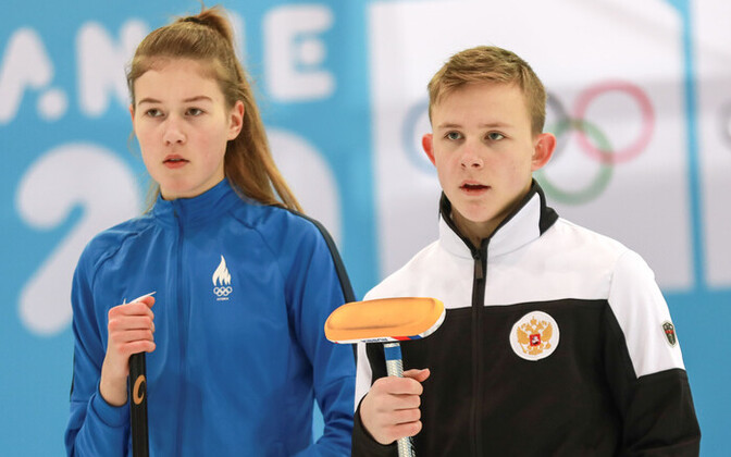 Katariina Klammer ja Mihhail Vlasenko