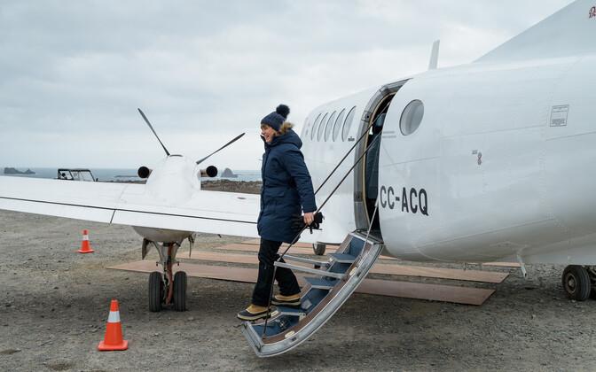 Президент Керсти Кальюлайд успешно добралась до Антарктики.