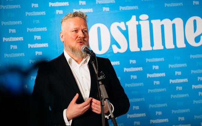 Postimees Grupi juhatuse esimees Andrus Raudsalu.