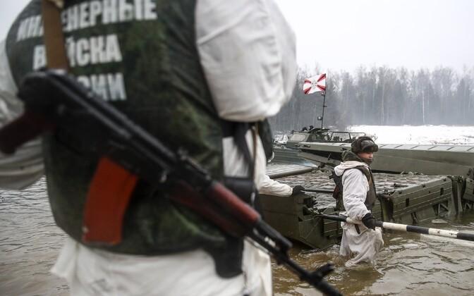 Venemaa sõjaväelased.