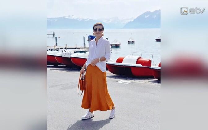 Стилист Лусине Аянян сейчас работает в Швейцарии.