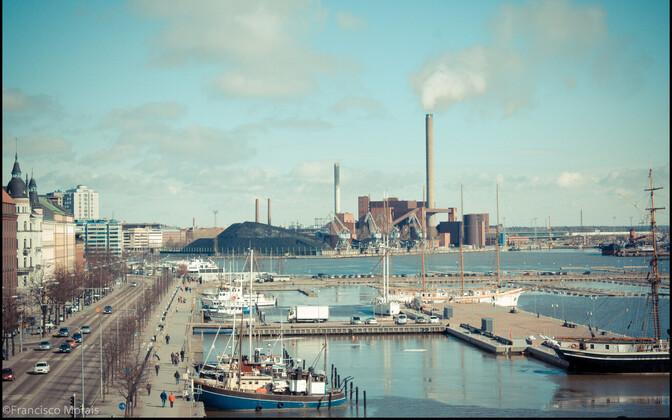 Хельсинкский порт.