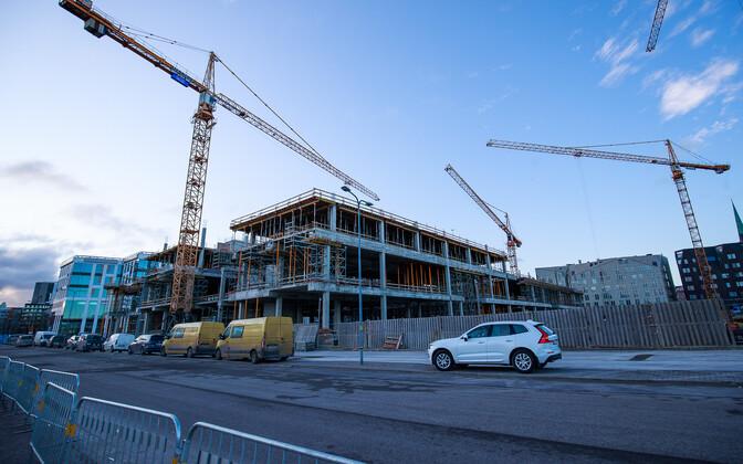 Ehitustööd Tallinnas.