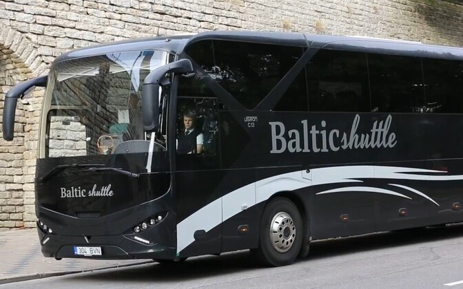 Автобус Baltic Shuttle.