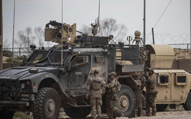 USA sõdurid Süürias 2019. aasta märtsis.