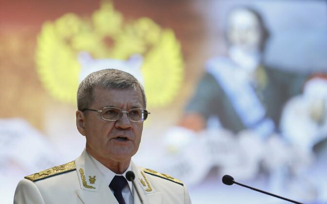 Venemaa (nüüdseks juba endine) peaprokurör Juri Tšaika 2016. aastal.