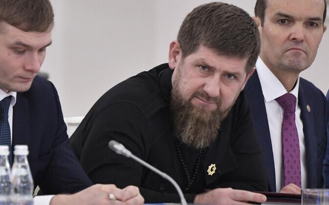 Tšetšeenia Vabariigi juht Ramzan Kadõrov.