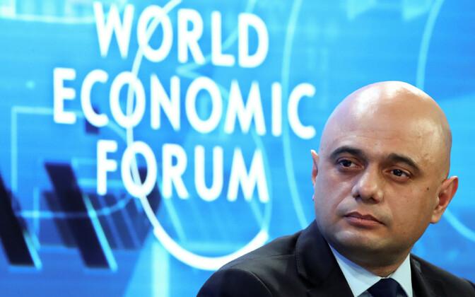 Briti rahandusminister Sajid Javid.
