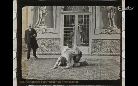 Кадр из фильма о Георге Лурихе.
