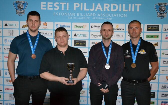 Joonas Saska, Aleksandr Jermikimov, Stanislav Saiov, Kait Hinn