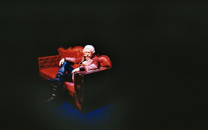 Münchauseni lavastuse esitlus Vene teatris