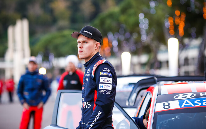 Ott Tänak is out of the season-opening Monte Carlo rally.
