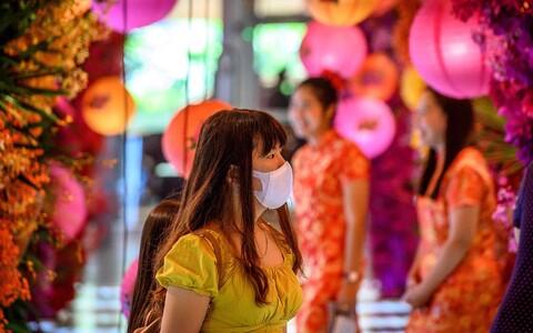 Haiguspuhang langes kokku Hiina uue aasta saabumisega.