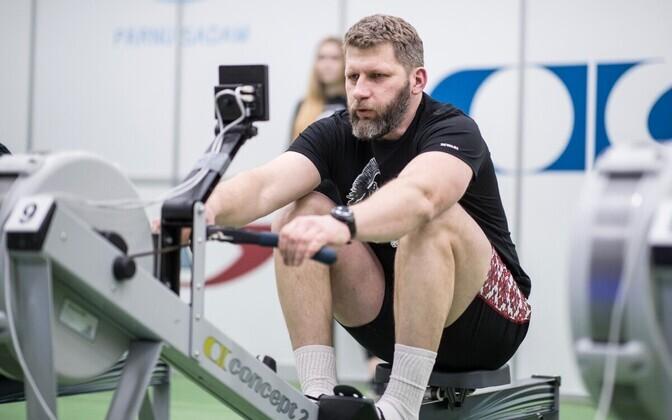 Pavel Šurmei 2018. aasta Alfa sõudevõistlusel