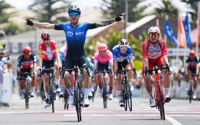 Giacomo Nizzolo (NTT Pro Cycling) võitis Tour Down Underi viienda etapi