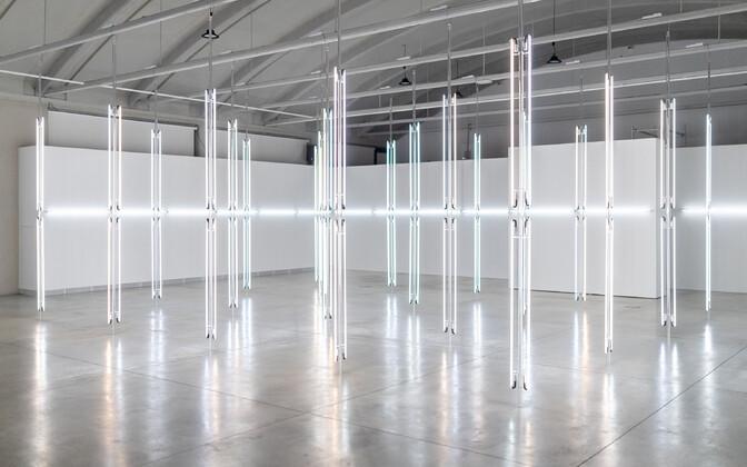 Norra kunstniku Anne Katrine Senstadi valgusinstallatsioon.