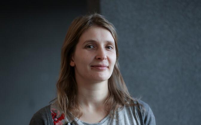 Luuletaja ja tõlkija ning kirjandusajakirja Värske Rõhk peatoimetaja Carolina Pihelgas.