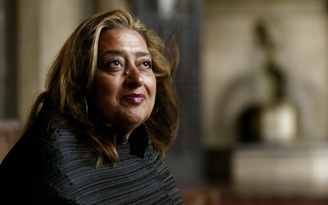 Arhitekt Zaha Hadid (1950–2016).